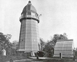 Aufnahme des Helmertturms aus der Zeit 1892-93