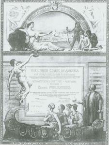 Plakat Weltausstellung Chicago 1892/93