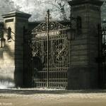 Historisches Eingangstor zum Telegrafenberg, Mai 2008